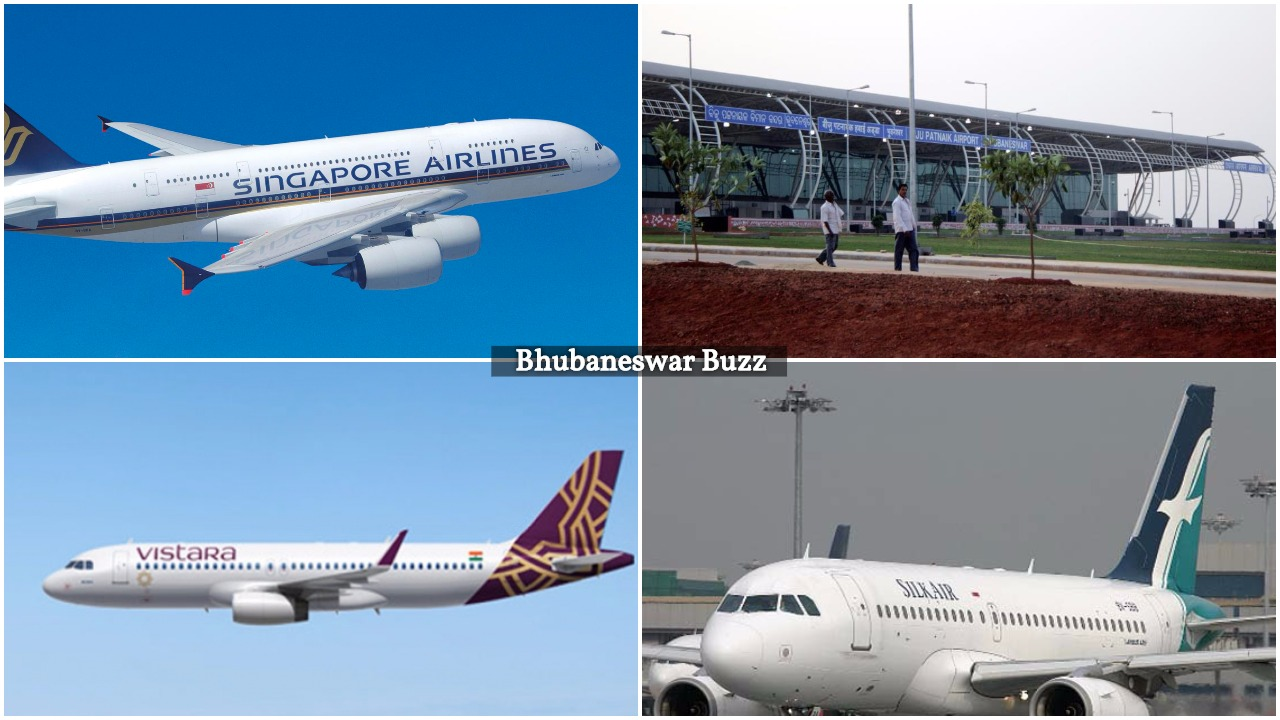 Singapore airlines vistara bhubaneswar buzz