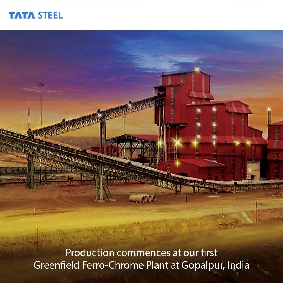 Tata steel ferro chrome plant odisha