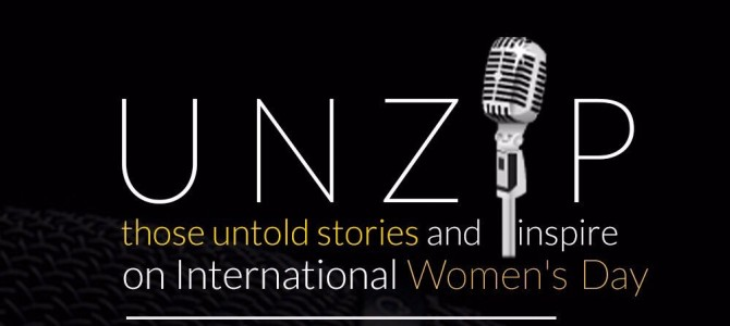 UNZIP :  an Open Mic event on the occasion of International Women's Day 8th March