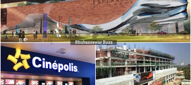 Forum Esplanade in Bhubaneswar, to be ready by 2018 march, Cinepolis one key anchor