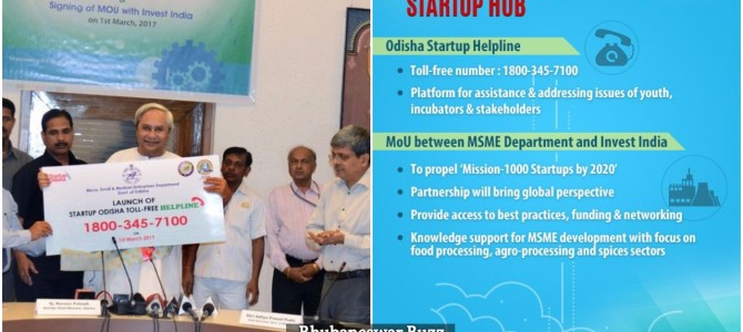Odisha launches Startup Odisha Helpline to encourage entrepreneurship