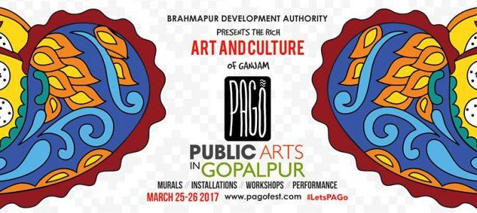 #PAGo : Brahmapur Development authority presents Public Arts in Gopalpur, check it out