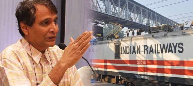 Railway Minister Suresh Prabhu in Odisha Today : Inauguration of new lines and station improvements in plans
