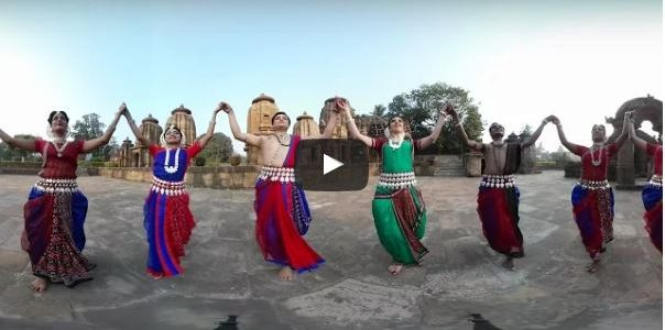 Don't miss first ever 360 degree video of Odissi Dance shot at picturesque Mukteswar Temple