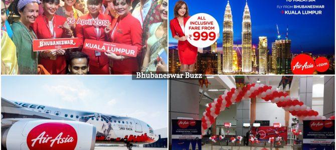 Air Asia India to start Bengaluru and Kolkata flights from Bhubaneswar by August 1st