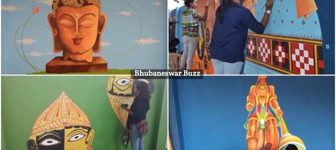 After bhubaneswar several other Railway stations in Odisha to showcase culture via Wallart
