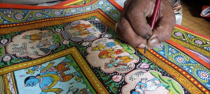 An exhibition in Mumbai that highlights the tradition of Odisha Pattachitra