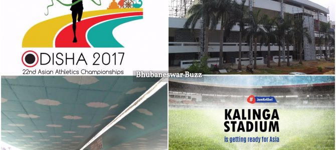 BMC in full flow for beautification of Bhubaneswar before Asian Athletics meet to host 45 nations athletes