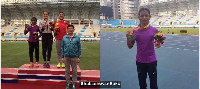 Olympian from Odisha Dutee Chand wins silver in Asian Grand Prix 2017