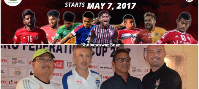2017 Football Federation Cup all set to start from today at Barabati Stadium Cuttack