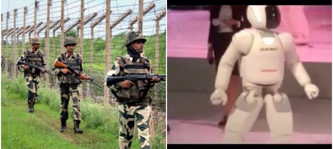 17 year old Neelamadhab Behera of Balasore Odisha creates humanoid robot that can patrol border