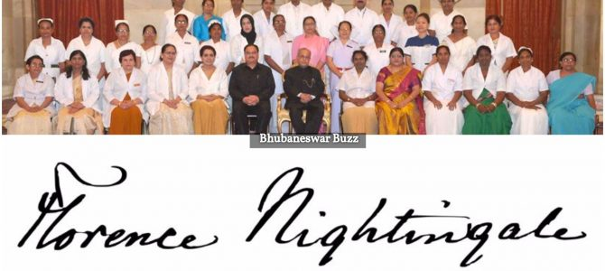 Nurse Krishna Kumari from Ganjam gets Florence Nightingale award