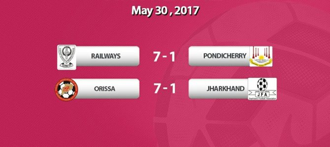 Odisha thrashed Jharkhand 7-1 to enter quarterfinal in Senior Women's National Football Championships