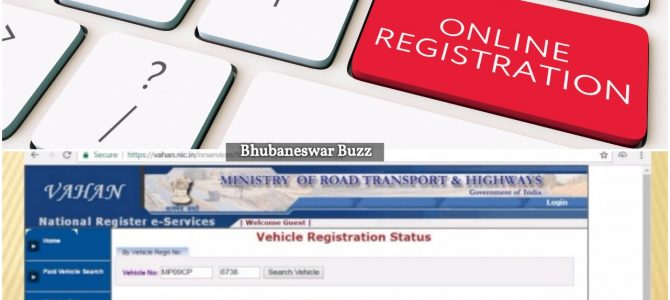 Starting June 1st, Vehicles can be registered online at Cuttack RTO