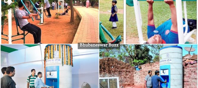 After open air gymnasiums, parks in bhubaneswar to have Water ATMs for safe drinking water