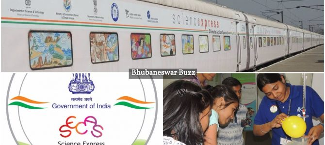 Science Express Climate Action Special, an exhibition on wheel train, enters Odisha with first halt at Bhadrak