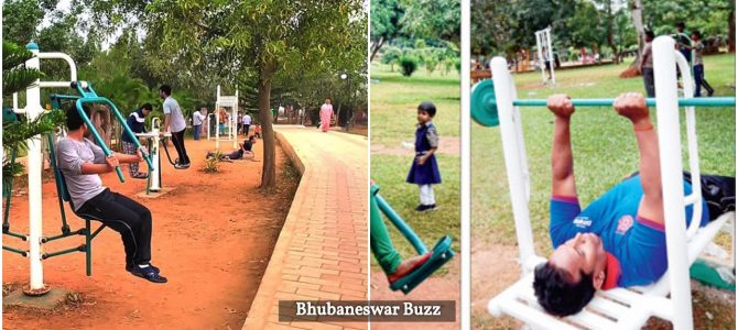 Started first in 2015, Bhubaneswar now boasts of 15 parks having open air Gyms