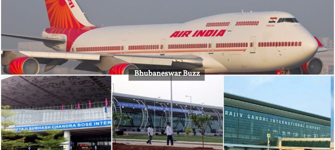 Air India to start a new flight connecting Bhubaneswar to Kolkata and Hyderabad