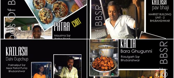 An attempt to curate best streetfood locations in Odisha famous among people