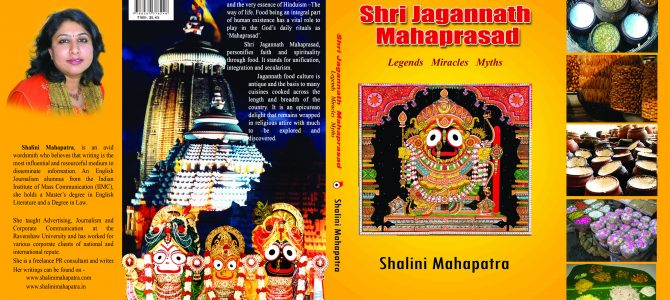 Shri Jagannath Mahaprasad Legends Miracles Myths, a Jagannath Consciousness book by Shalini Mahapatra