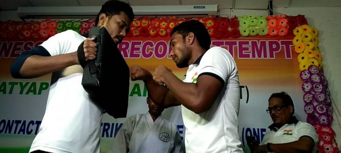 Satyapira Pradhan of Bhawanipatna created a new Guinness record in delivering most 393 punches in 1 minute