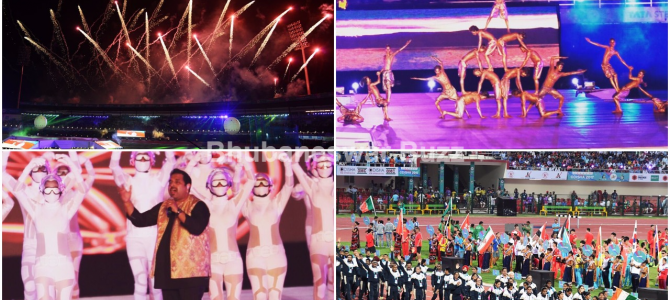 Asian Athletics starts in bhubaneswar with an awesome cultural extravaganza showcasing Odisha
