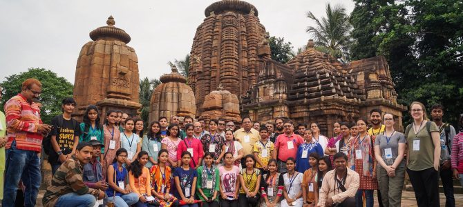 33rd Ekamra Walks attracts young student from Regional Institute of Education bhubaneswar
