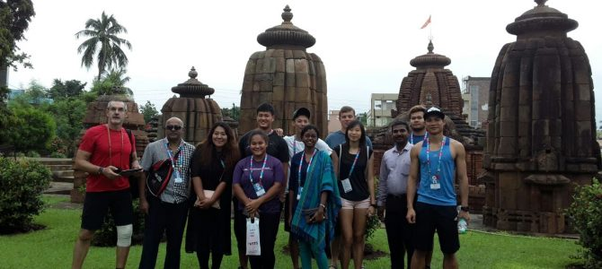 Athletes from Malaysia join Ekamra Walks to experience heritage treasure of Bhubaneswar