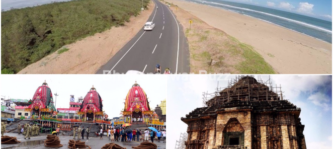 Imagine a scenic one hour journey from along Puri Konark Coastline!!! Indian Railways and Odisha govt working on MOU