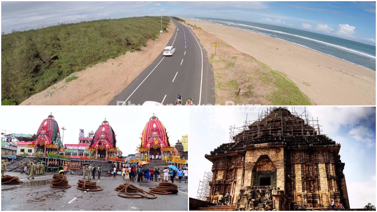 Imagine A Scenic One Hour Journey From Along Puri Konark Coastline Indian Railways And Odisha