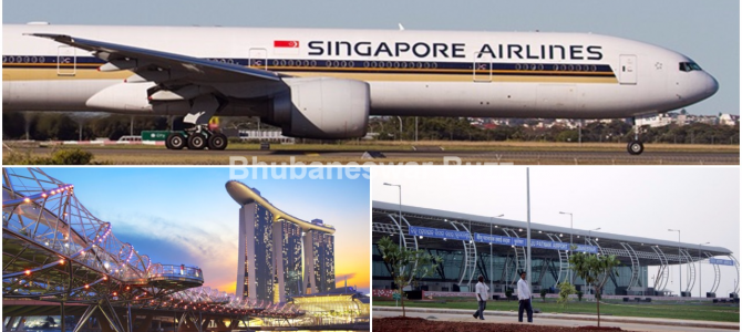 Singapore is exploring more airlinks to India, Bhubaneswar Pune Guwahati and Madurai being explored