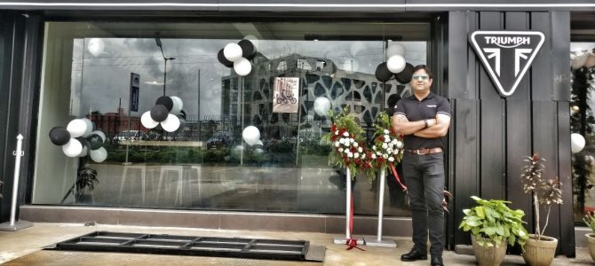 British motorcycle manufacturer Triumph opens new dealership in bhubaneswar
