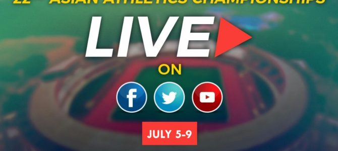 Did you know DD Sports channel is streaming Live Asian Athletics Championship in bhubaneswar