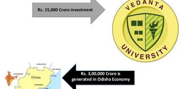Odisha Government not providing Alternative land to Vedanta University, here comes Andhra Pradesh