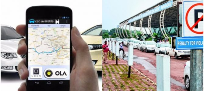 AAI ties up with Ola and Uber for cab bookings from kiosks at 5 airports in India with Bhubaneswar one of them