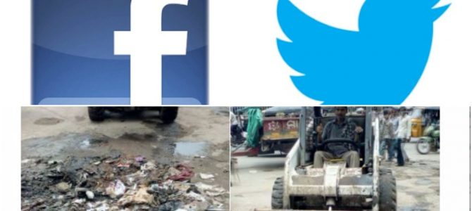 Soon you can tweet to Cuttack Municipal corporation if the garbage is not cleaned at your place