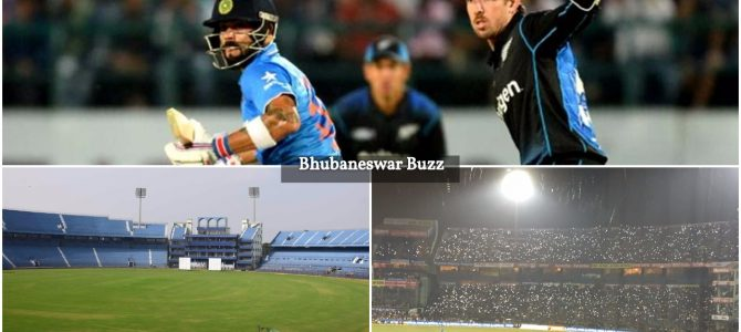 India vs Newzealand T20 Cricket Match to be played in Barabati Stadium cuttack on Nov 4