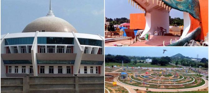 Finally Burla Planetarium and Science center all set to be inaugurated today by CM Naveen Pattnaik