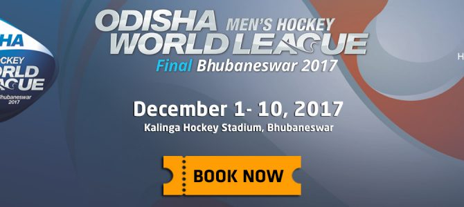 Online Ticket Sales for Odisha Mens Hockey World League 2017 in Bhubaneswar starts