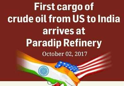 First ever shipment of US crude oil to India arrives at Paradip Port in Odisha