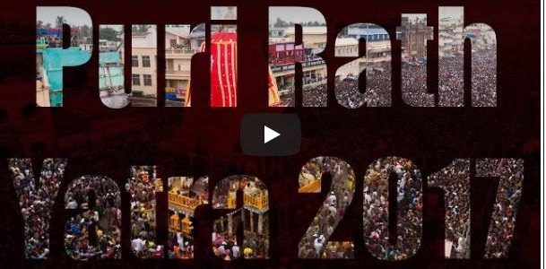 An awesome video capturing the vibe of Puri Jagannath Ratha Jatra 2017 by Mousam Pattanaik