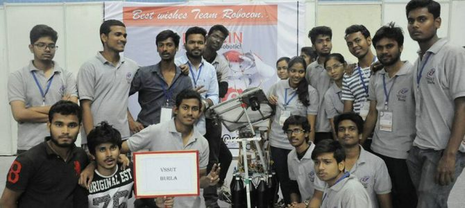 Odisha's First Engineering College VSSUT Burla bags AIR 6 in the country's most prestigious Robotics Competition