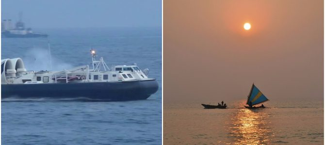 Tourists in Puri Beach Odisha are all set to enjoy Hovercraft rides by this month end
