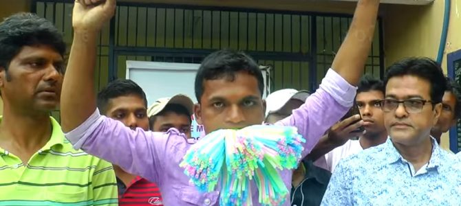 Odisha man stuffs 459 straws in mouth for 10 secs, creates Guinness World Record