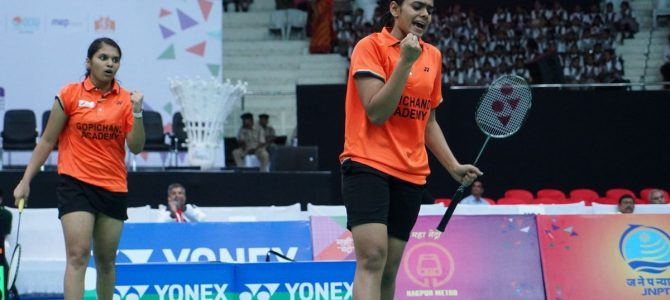 Odia Girl Rutuparna Panda from Cuttack is among India's most promising double's badminton player