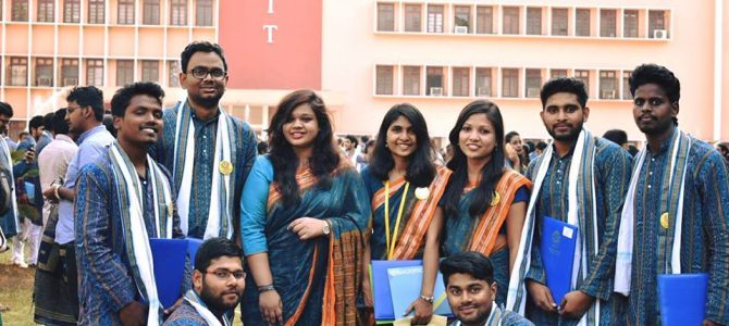 NIT Rourkela in Odisha goes local for Convocation attire, Sambalpuri attire clad students check it out