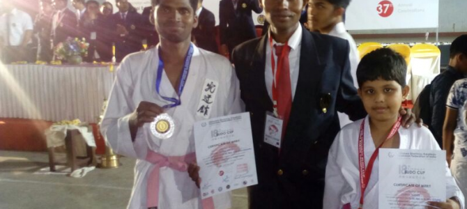 7 year old Chirag Mishra of Odisha wins Gold in 18th National BUDO cup championship in Kerala
