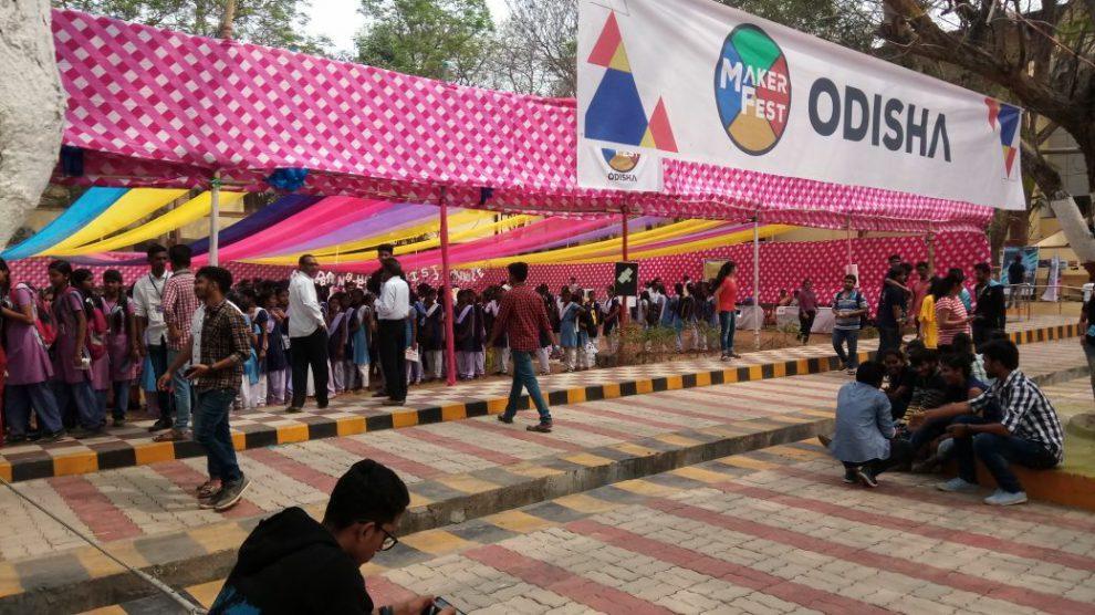 Maker Fest Odisha Vssut Burla Organized This