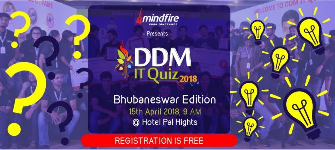 Mindfire Solutions to Organize 8th Edition of DDM IT QUIZ in Bhubaneswar