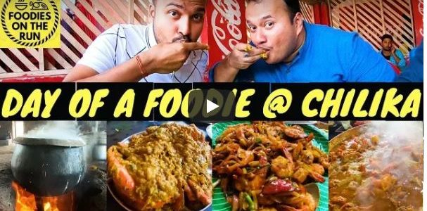An awesome video Day of a Foodie Visiting Chilika, Don't miss